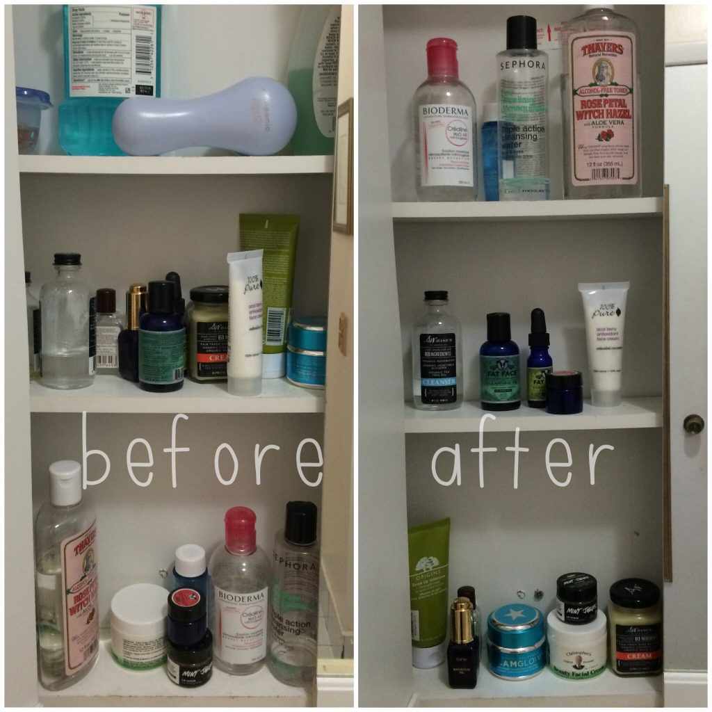 Quick Fix Bathroom Cabinet Organization Lets Fall In Love