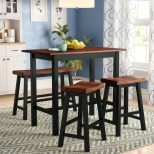 Red Barrel Studio Opal 4 Piece Counter Height Dining Set Reviews