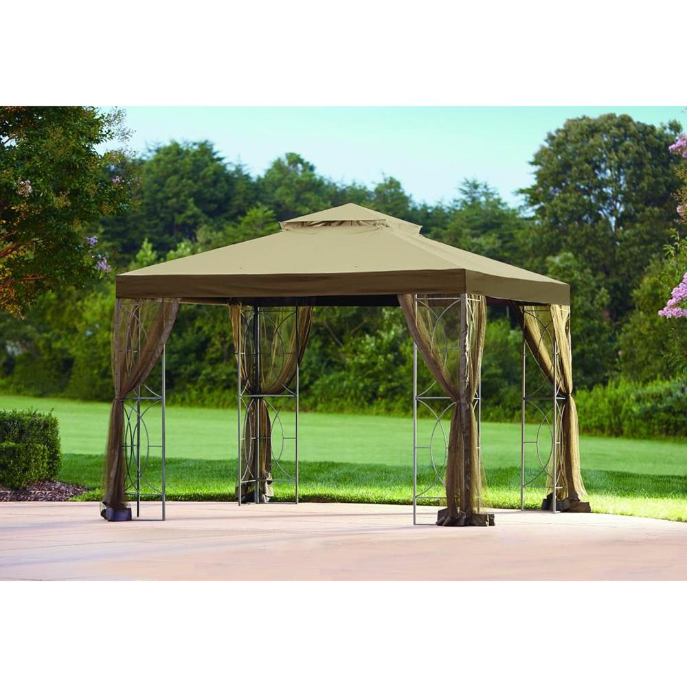 Replacement Mosquito Netting For L Gz813pst 10x10 Callaway Gazebo