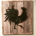 Country Rustic Rooster Decor