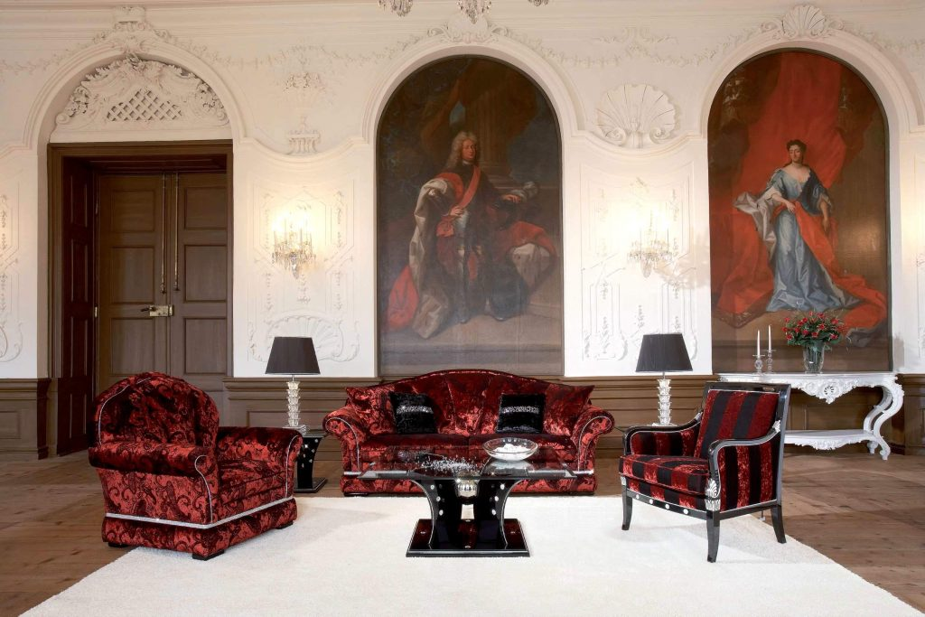 Royal Castle Living Room Interiors And Walls Designs Stylish Home
