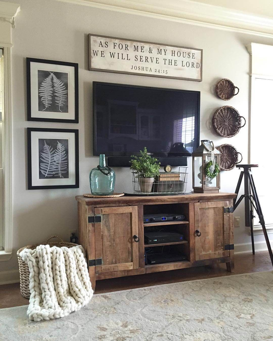 Rugged Barnwood Television Console Cabinet For The Home Home