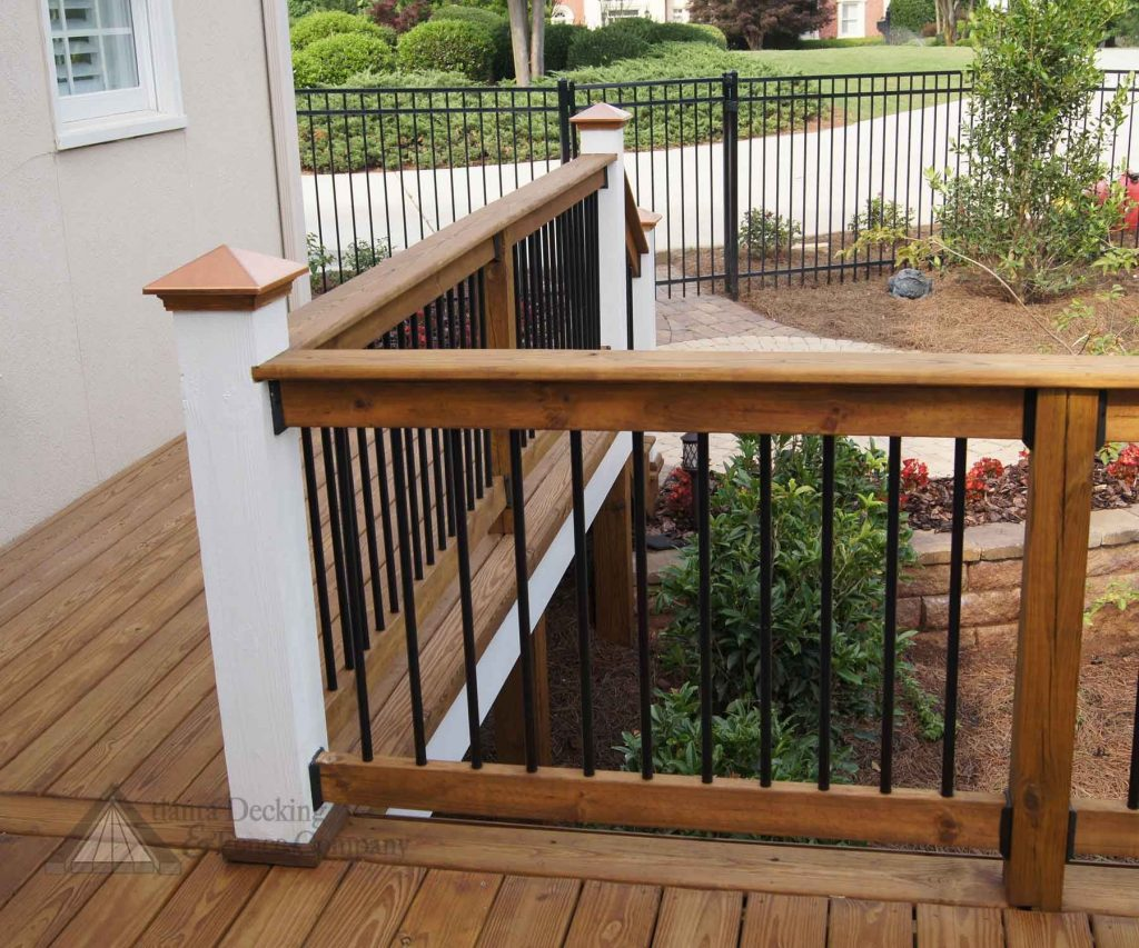 Rustic Deck Railing Ideas Back To Post Deck Railing Designs