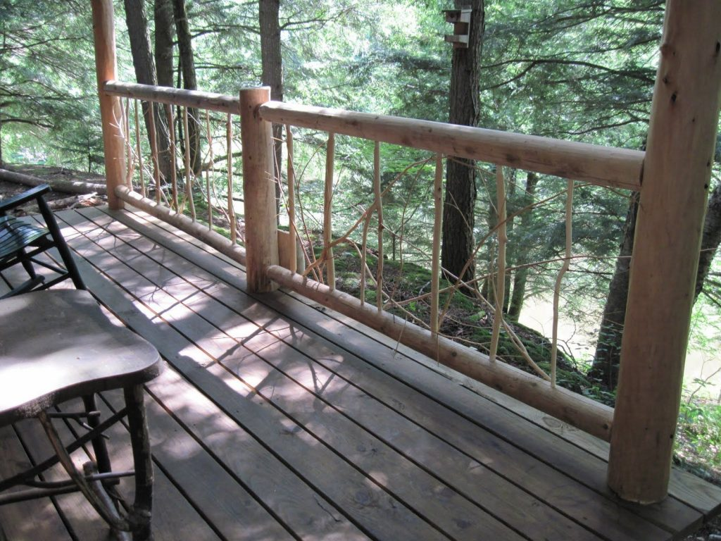 Rustic Decks Rustic Porch Railing Rustic Deckpath Railings
