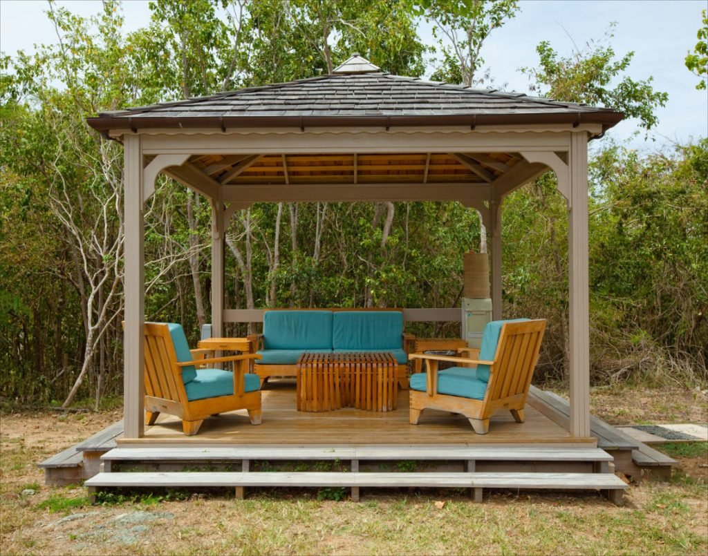 Rustic Gazebo Kits Small Design Home Ideas