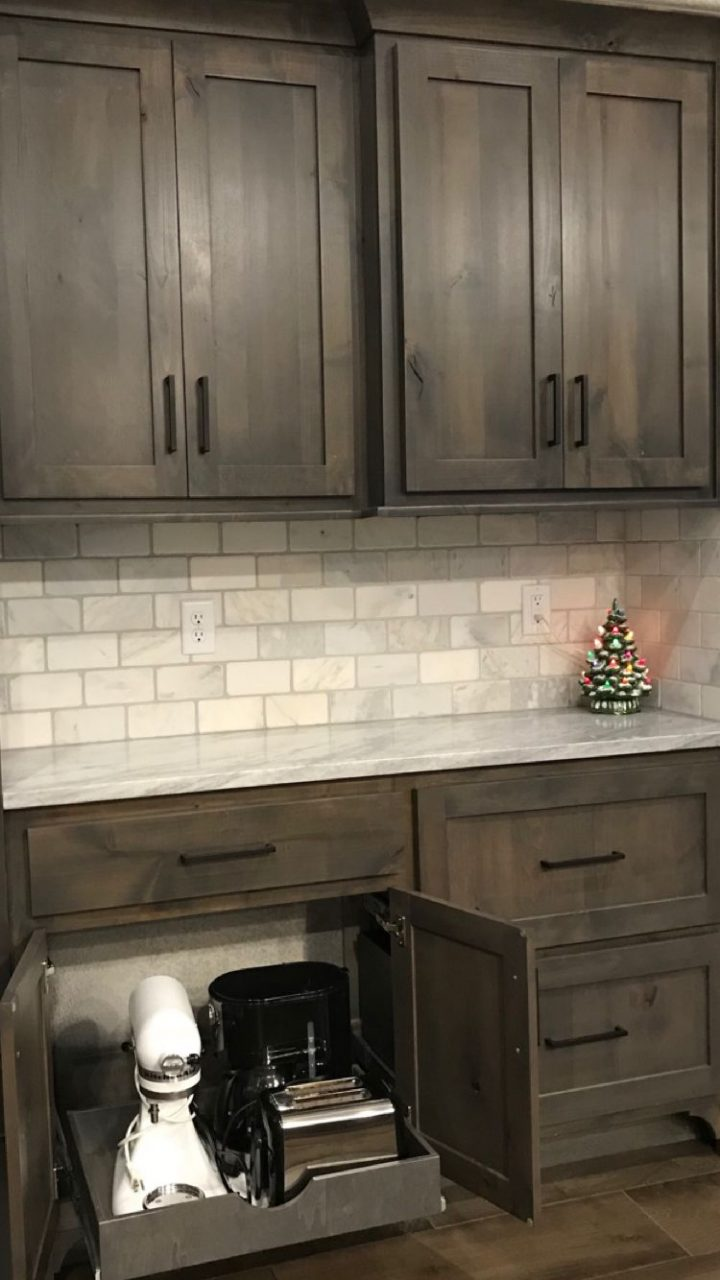 Rustic Grey Kitchen Cabinets Awesome Well Known Color Schemes Inside
