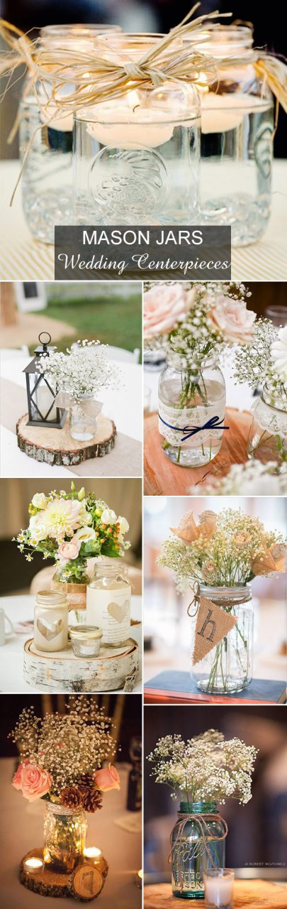 Rustic Wedding Ideas 30 Ways To Use Mason Jars