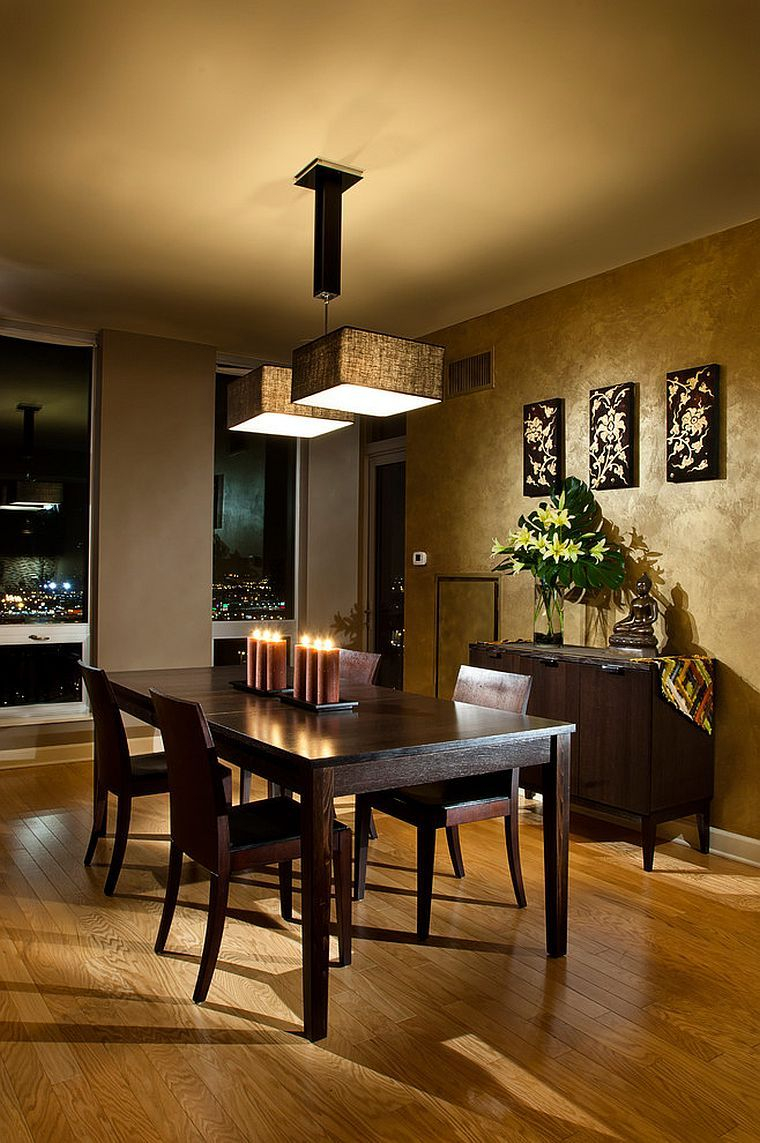 Serene And Practical 40 Asian Style Dining Rooms Asian Inspired