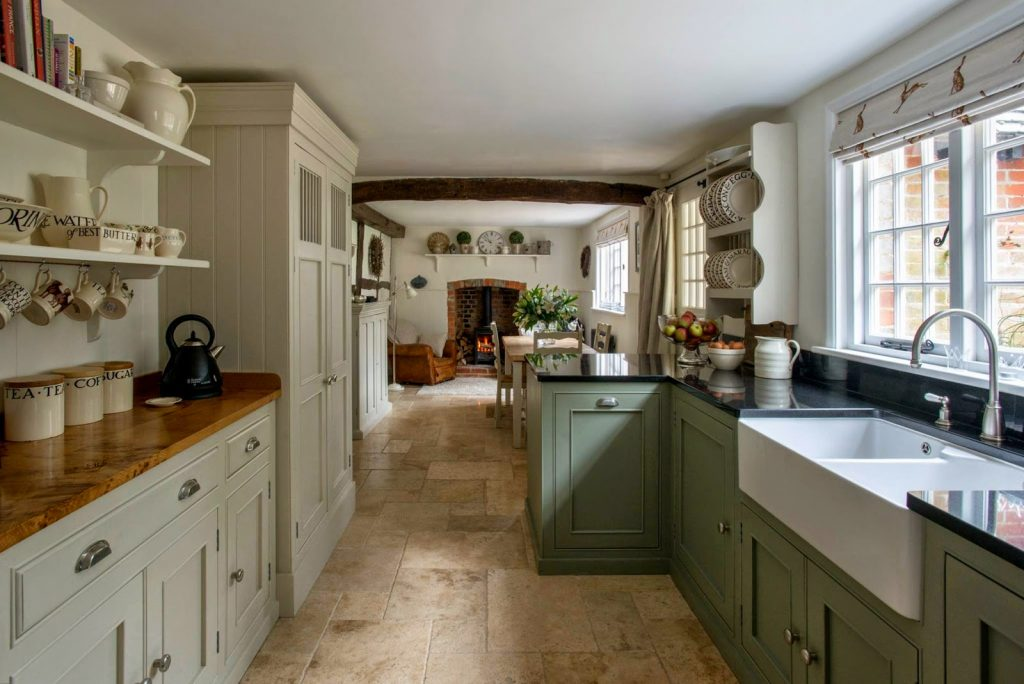 Several Design Ideas For All Country Kitchens