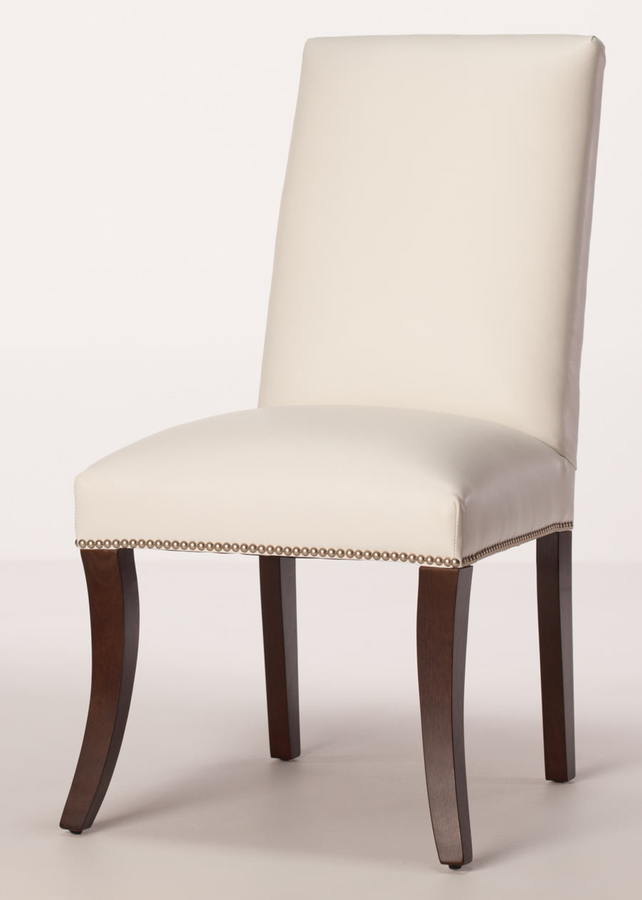Sheffield Leather Parsons Dining Chair