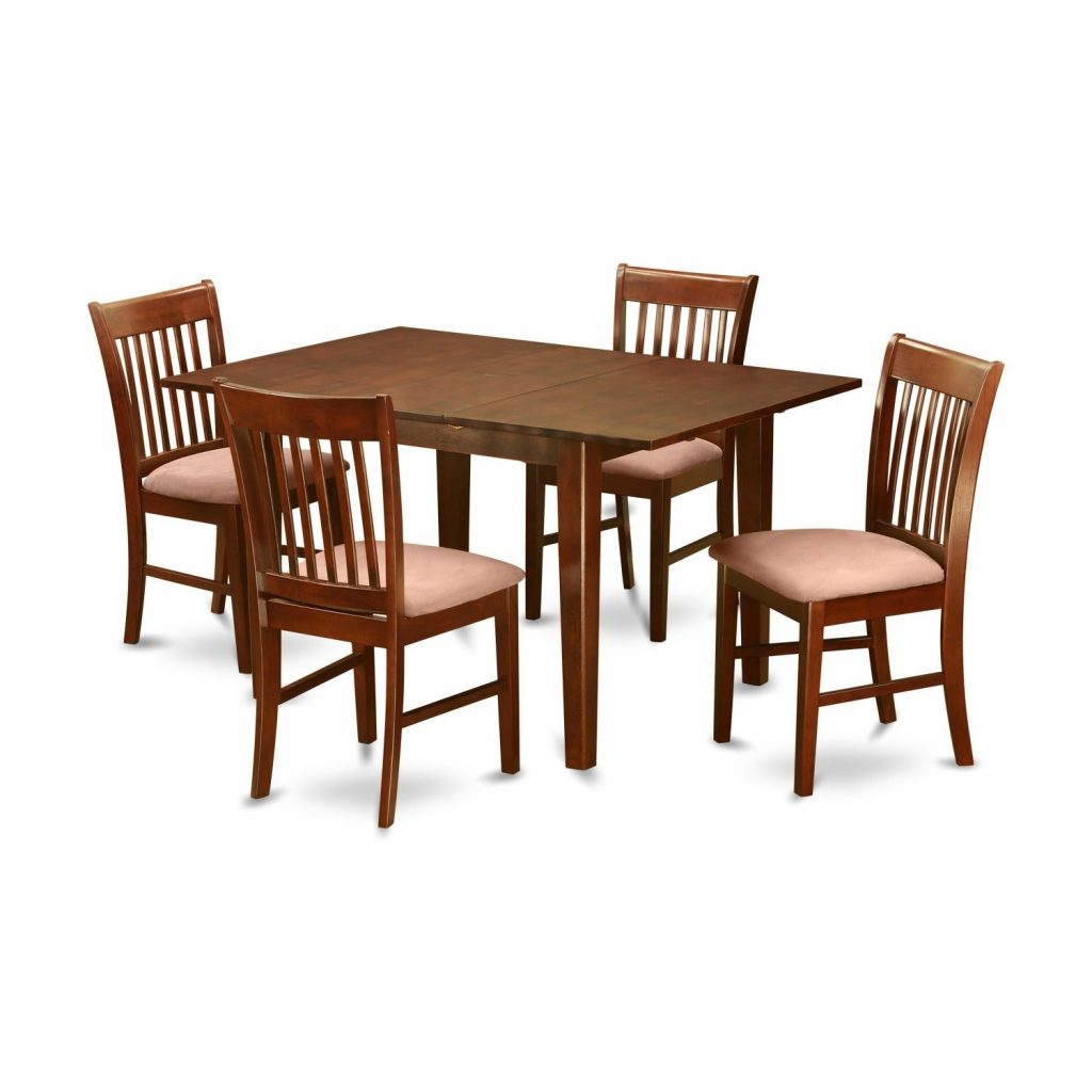 Shop 5 Piece Kitchen Nook Small Dining Table And 4 Dining Room