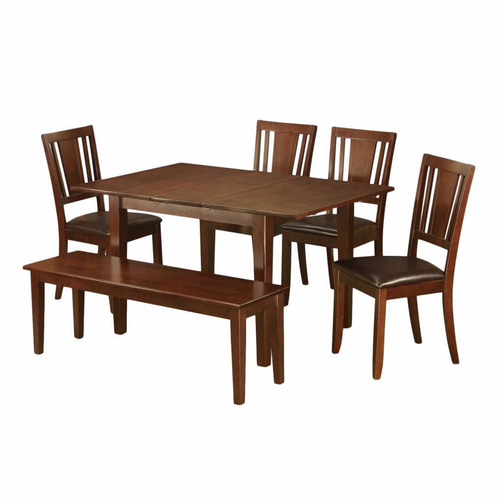 Shop 6 Piece Kitchen Nook Dining Set Breakfast Nook And 4 Dining
