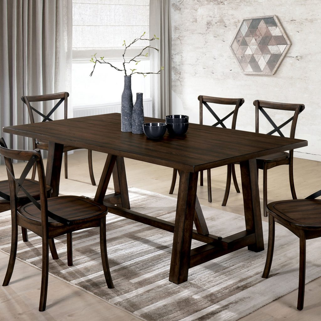 Shop Carson Carrington Breisgau Modern Farmhouse Dining Table On