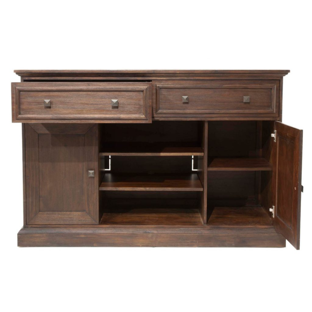 Shop Harlan Rustic Java Acacia Small Dining Sideboard Free