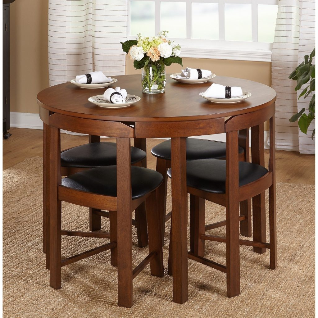 Shop Harrisburg 5 Piece Tobey Compact Round Dining Set Free