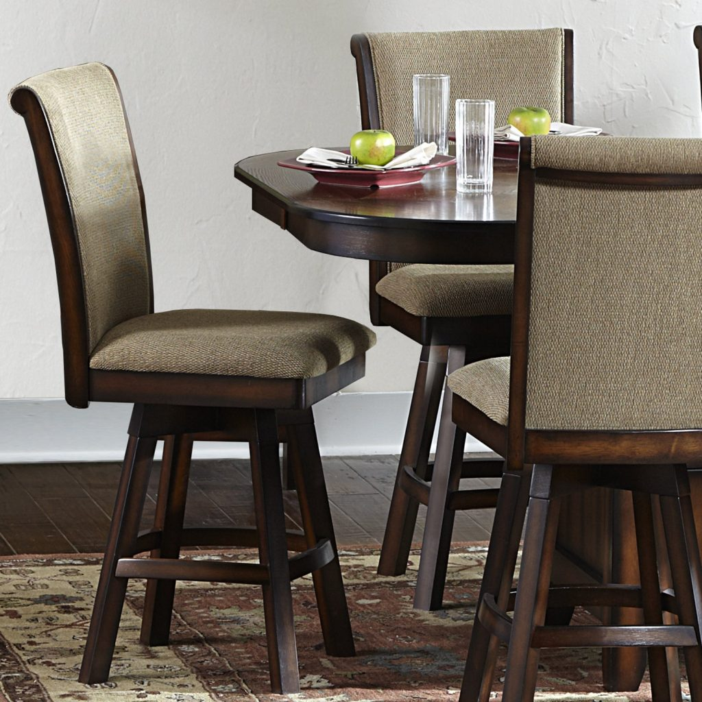 Shop Tribecca Home Glenbrook 7 Piece Counter Height Dining Set With