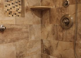 Earth Tone Bathroom Tile Ideas