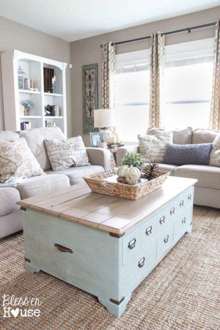 Simple Rustic Farmhouse Living Room Decor Ideas Cottage Vintage