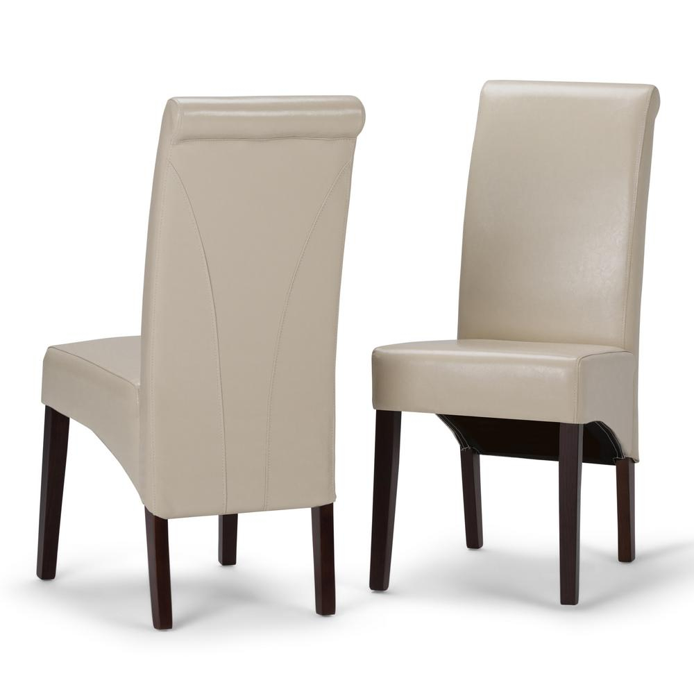 Simpli Home Avalon Contemporary Deluxe Parson Dining Chair Set Of 2