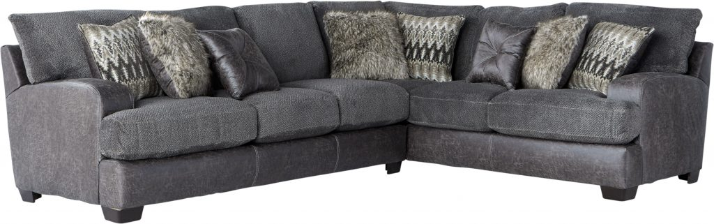 Skyline Drive Gray 2 Pc Sectional