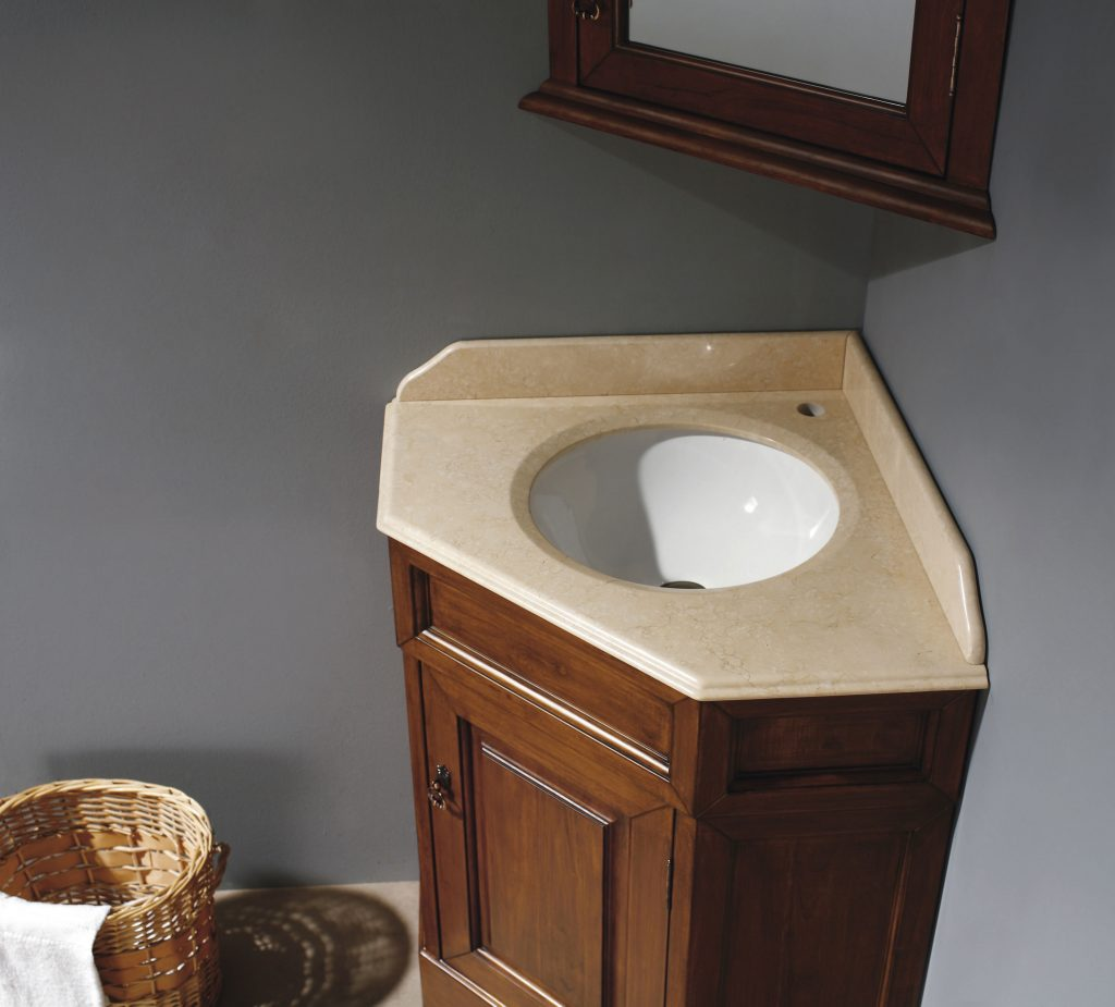 Small Corner Vanity Unit With Basin Bathroom Sink Cabinet Lowes