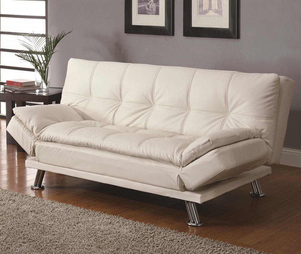 Sofa Beds And Futons Contemporary Styled Futon Sleeper Sofa With