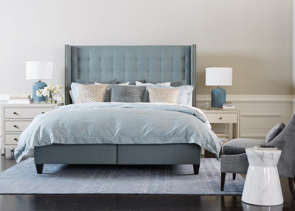 Soothing Blue Bedroom Ethan Allen
