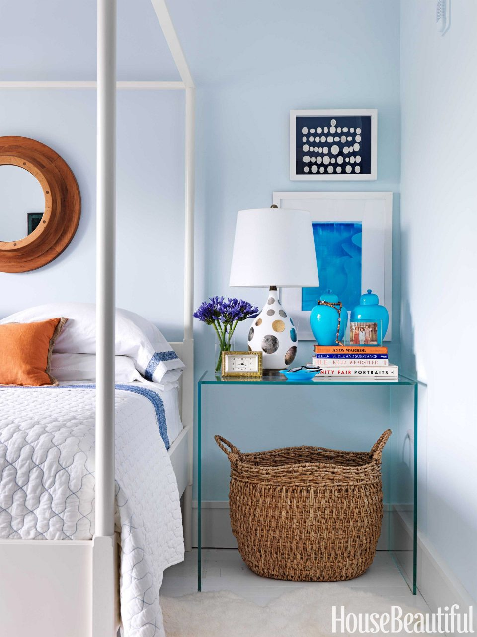 Soothing Blue Bedroom House Beautiful Pinterest Favorite Pins June