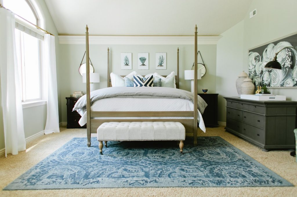 Soothing Blue Gray Bedroom House Of Jade Interiors Blog