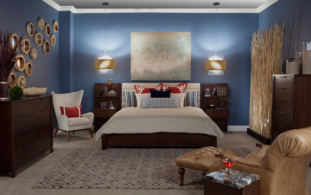 Soothing Blue Master Bedroom Retreat Lee Crutchfield