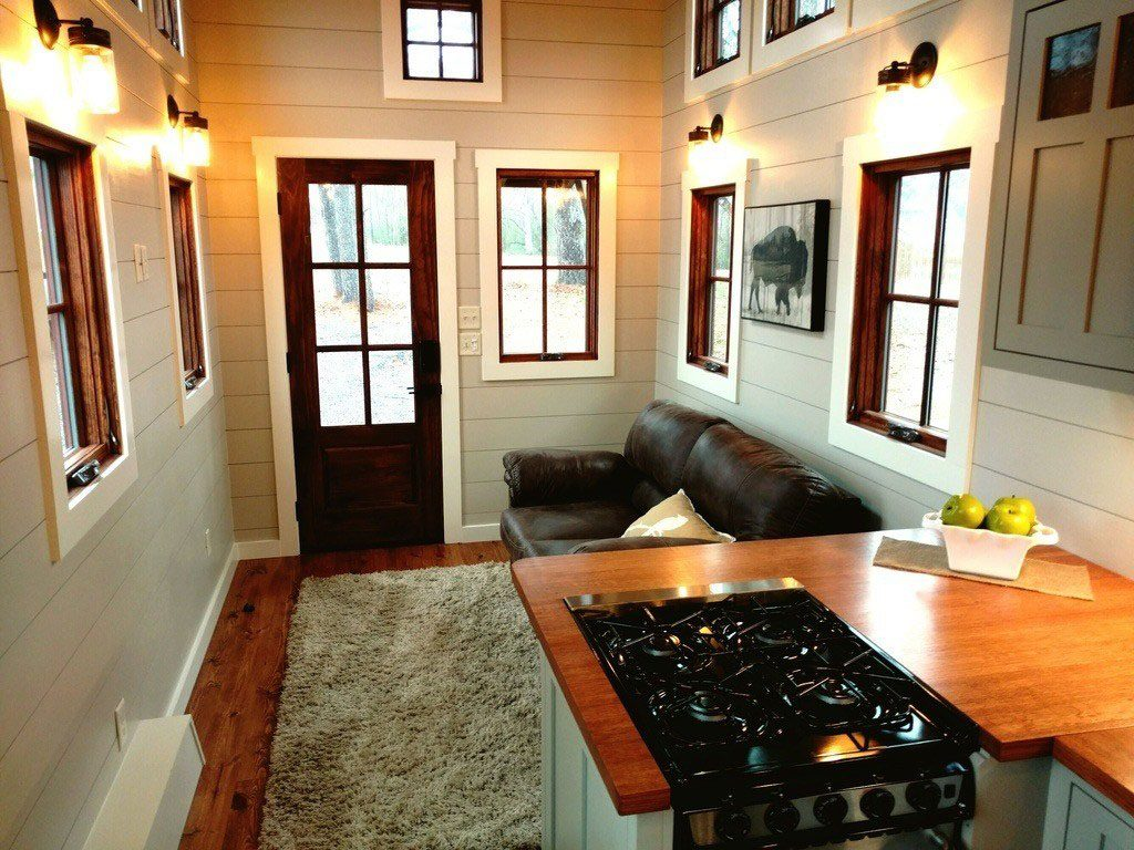 Spacious Farmhouse Style Luxury Tiny Home Idesignarch Interior