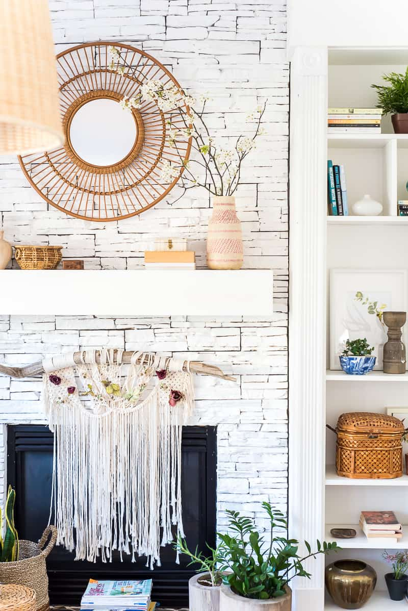 Spring Boho Decor From The Mantle To The Floor Boho It Up