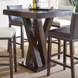 Steve Silver Tiffany Square Bar Height Table Tf600ptn Products