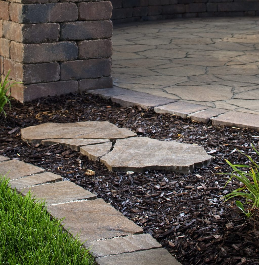 Stone Pathways Stepping Stone Walkway Ideas Designs Install It