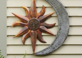 Outdoor Metal Wall Decor