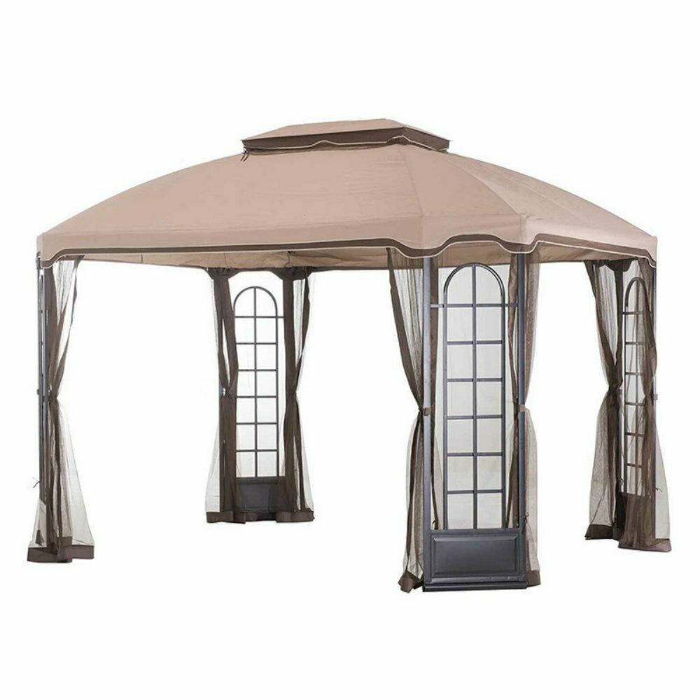 Sunjoy Replacement Canopy For 12 W X 10 D Terrace Gazebo For Sale