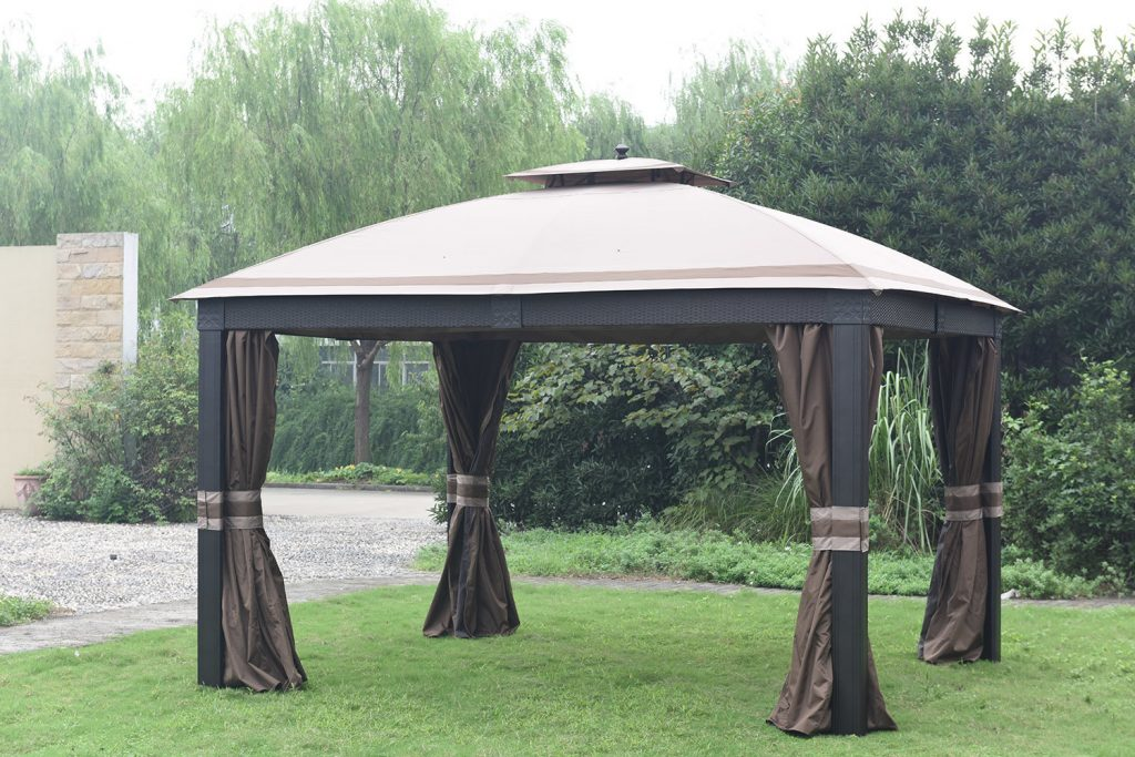Sunjoy Replacement Canopy For Wicker Gazebo 841057152645 Ebay