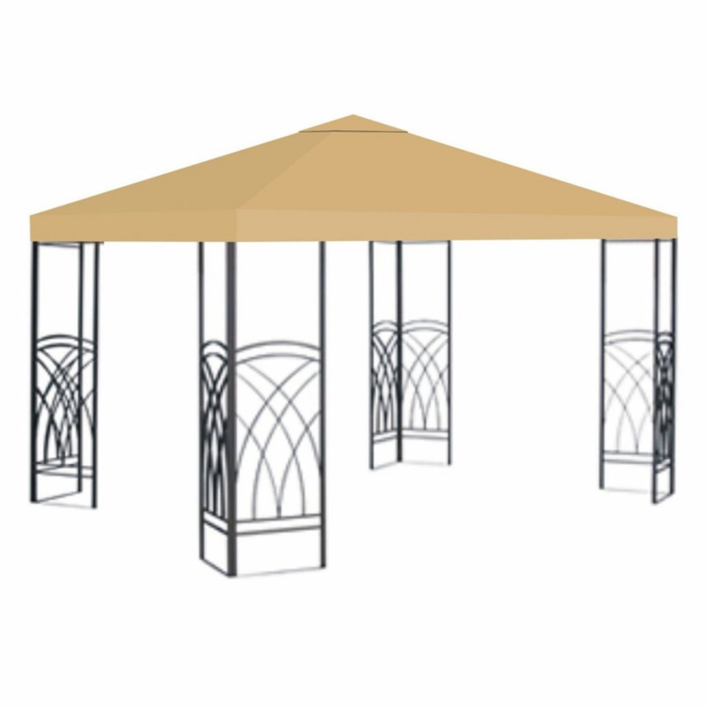 Sunrise 10 X 10 Ft Gazebo Replacement Canopy Cover Beige Products