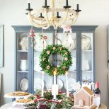 Swedish St Lucia Inspired Christmas Table Home Design