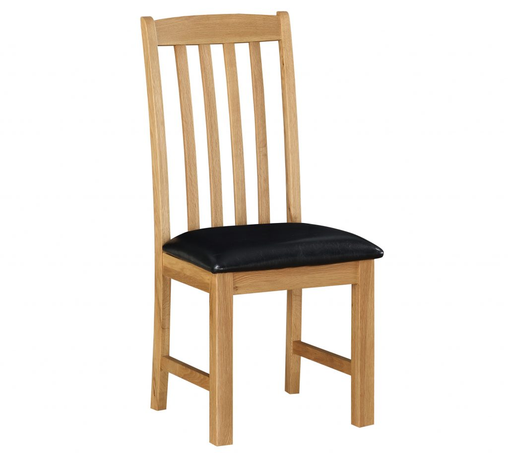 Sweet Dreams Heald Solid Oak Dining Chair From The Sleep Station