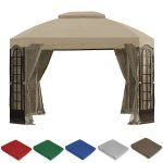 Terrace Gazebo Replacement Canopy