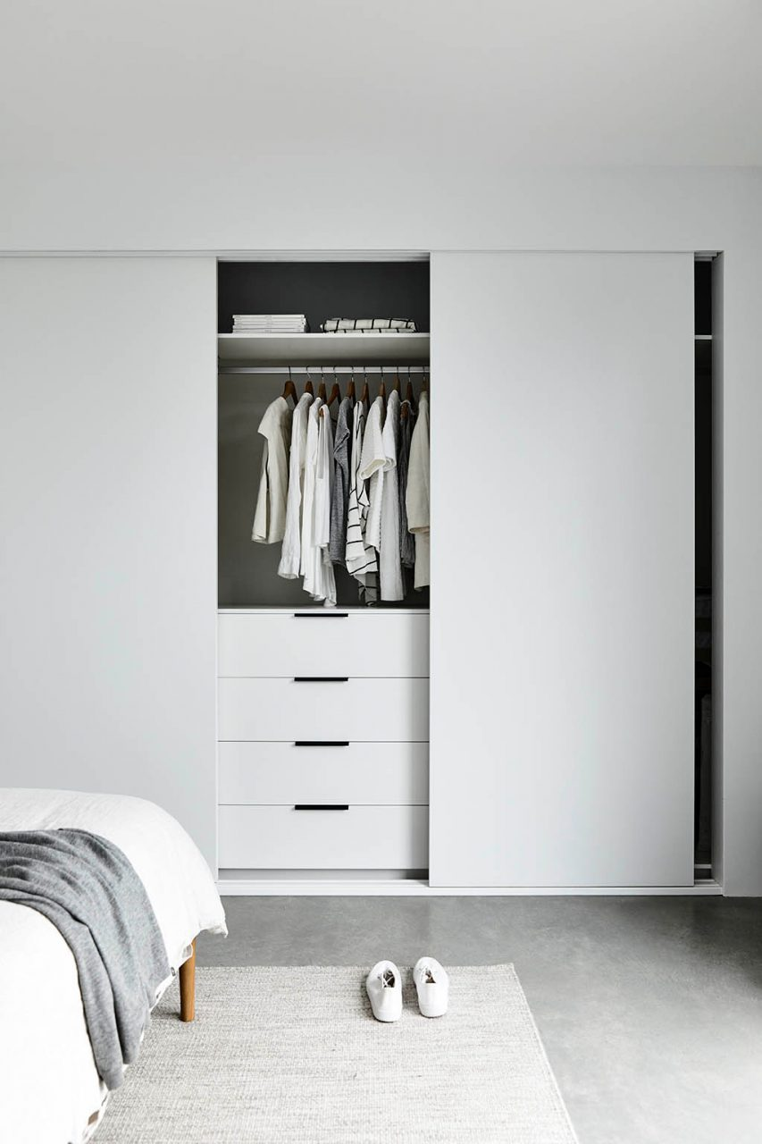 This Beautiful All White Bedroom Features Laminex White From The