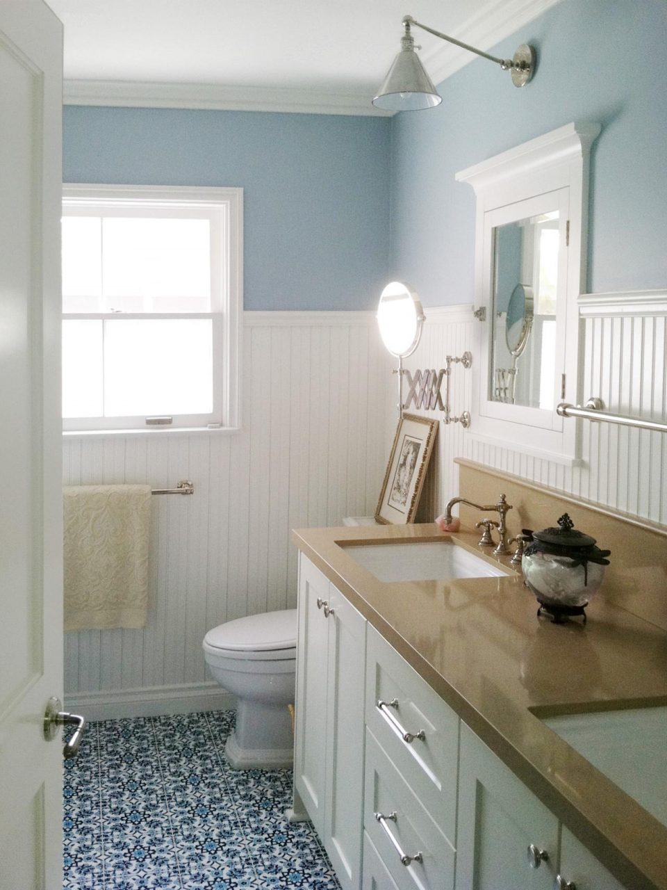 Tile Style Coastal Bathroom Escape Fireclay Tile
