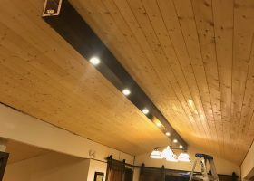 Rooms with Tongue and Groove Ceilings