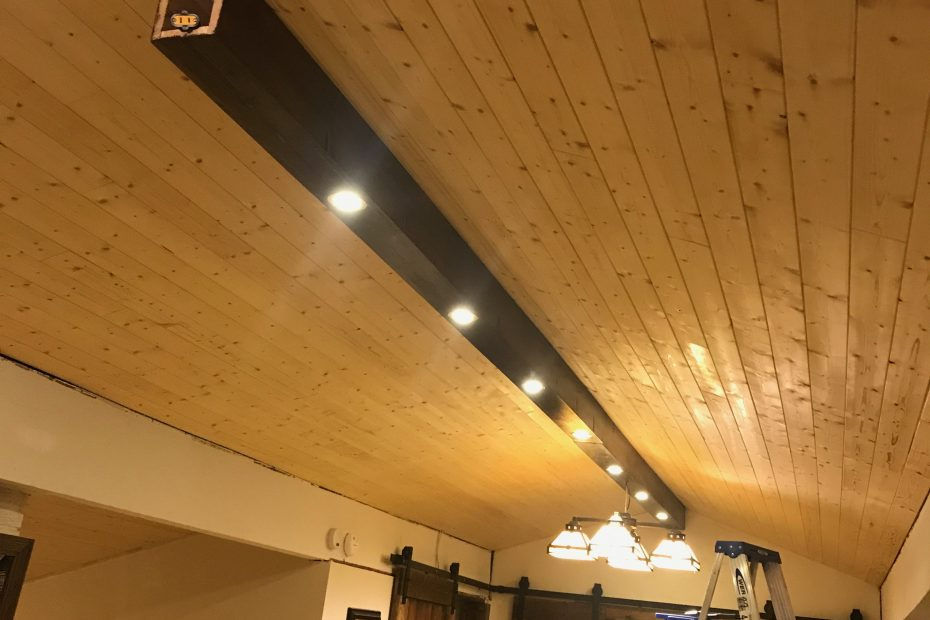 Tongue And Groove Living Room Ceiling Dave Eddy