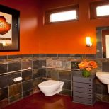 Top Most Brilliant Orange Bathroom Ideas You Never Knew Bathroom