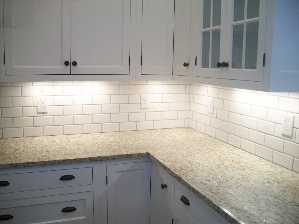 Topic For White Subway Tile Kitchen Backsplash Ideas Kitchen