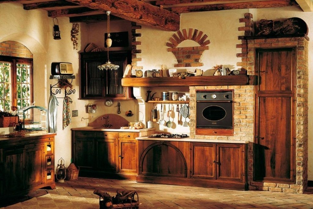 Tuscan Italian Kitchen Decorating Ideas Country Baneproject