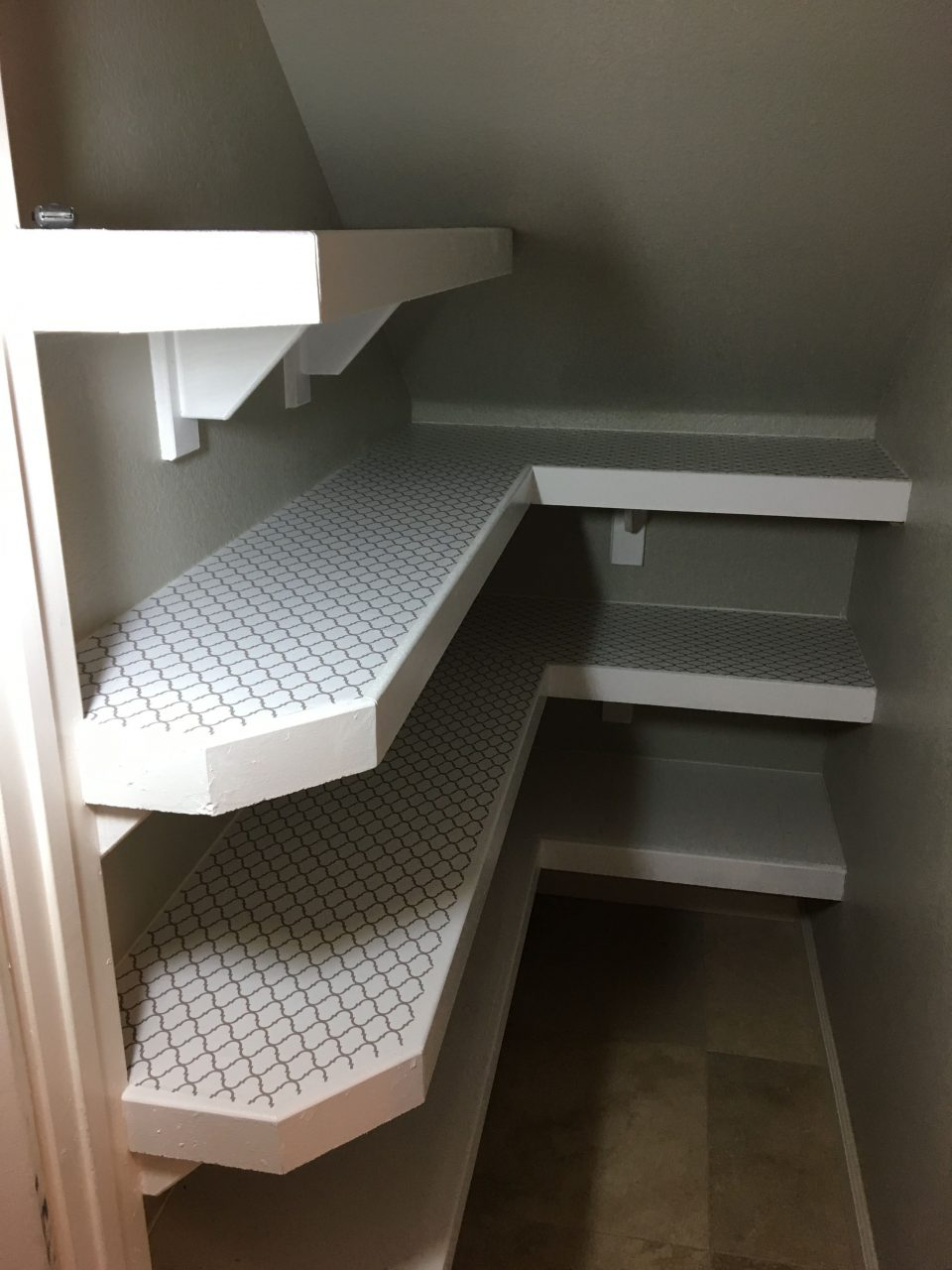 Under Stair Pantry Creative Ideas In 2019 Small Kitchen Design