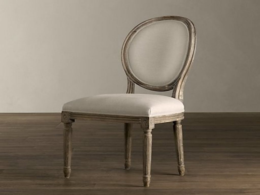 Upholstered Side Dining Chairs Restoration Hardware